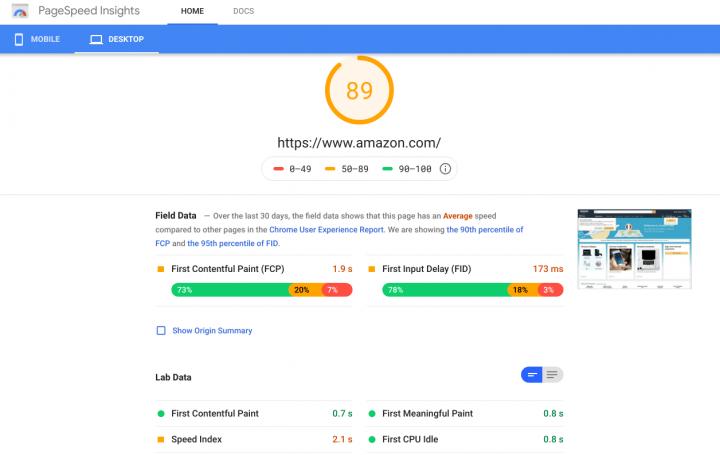 7 инструментов для проверки скорости ваших сайтов электронной коммерции