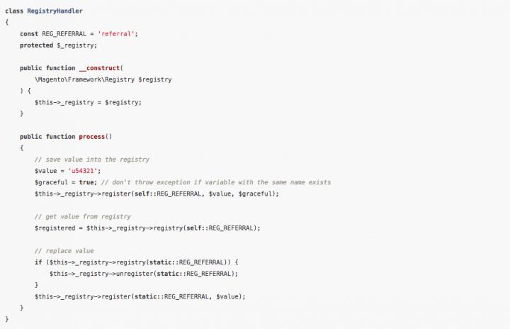 Учебник Magento 2: файлы cookie, реестр, сеанс