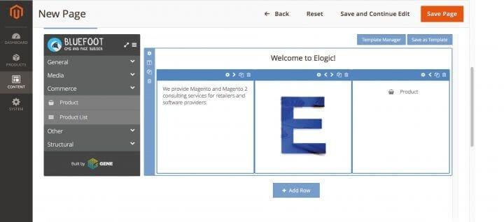 Нужно создать страницу на Magento? Решение есть - Bluefoot Cms и PageBuilder
