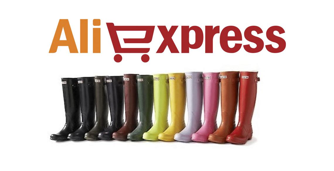 Как купить дешевые ботинки HUNTER на AliExpress - декабрь 2020