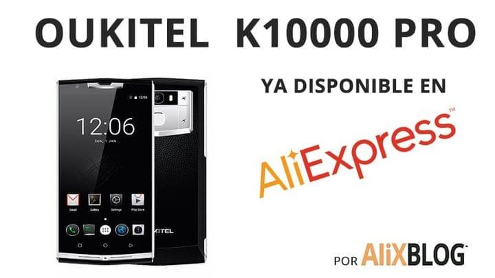 Oukitel K10000 Pro поступает на AliExpress (и это довольно дешево)
