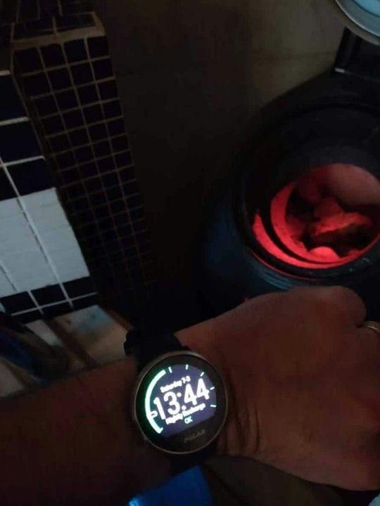 Использование умных часов в сауне