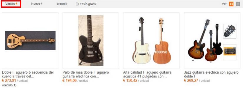 Недорогие электрогитары в стиле Fender на Aliexpress
