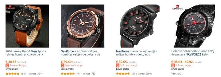 Часы Naviforce - дешевая альтернатива репликам 2020