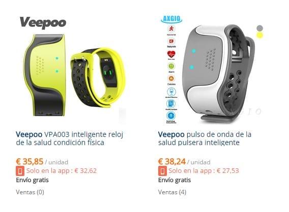 Часы Veepoo, дешевые браслеты для физических упражнений Декабрь 2020