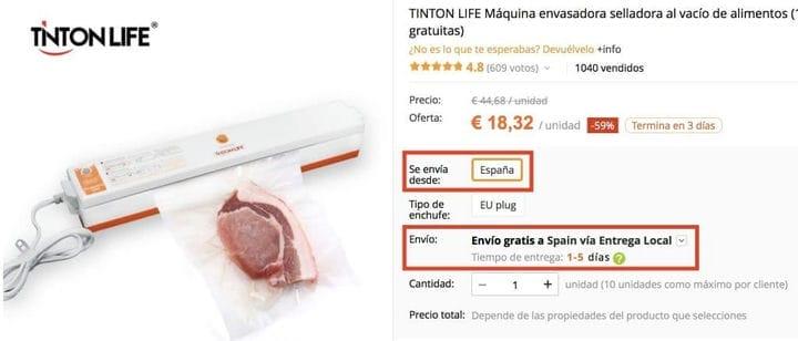 Как купить дешевый вакуумный упаковщик на AliExpress