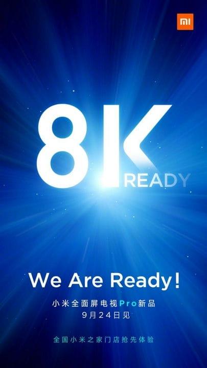 Объявлена дата премьеры нового Xiaomi Mi TV 8k