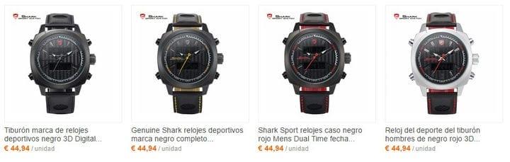 Часы Shark - дешевая альтернатива репликам - декабрь 2020 г.
