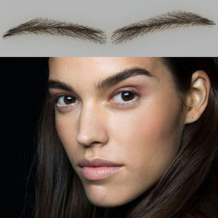 Накладные брови: идеальное решение для идеальных бровей