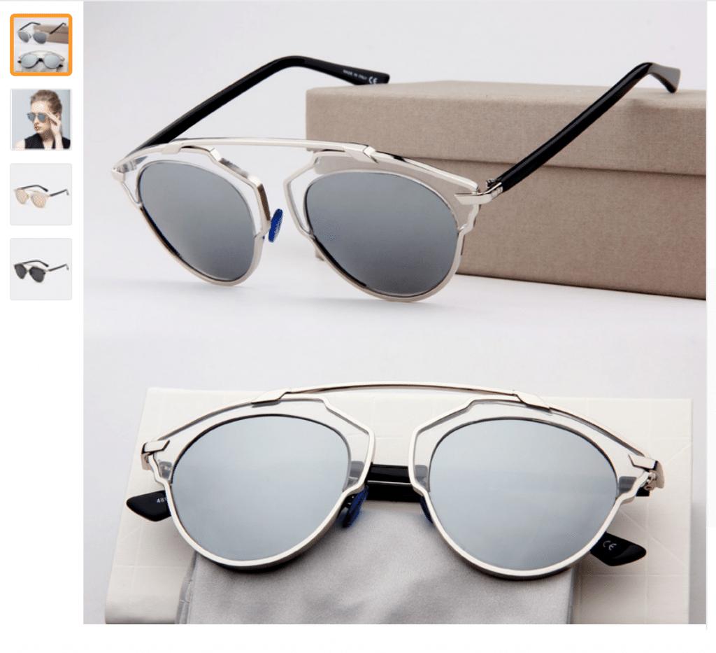 ОЧЕНЬ дешевые солнцезащитные очки в стиле Dior (So Real и другие) - 2020