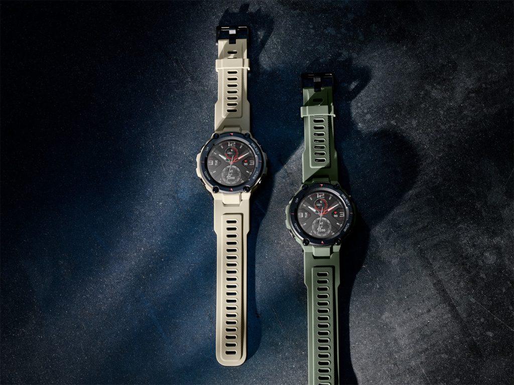 Amazfit T-Rex, надежные умные часы для самых смелых