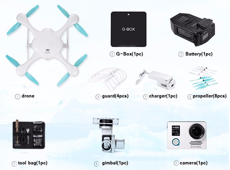 Ehang's Ghostdrone 2.0: самый простой в мире дрон на AliExpress