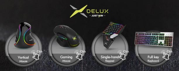 Купите дешевую игровую периферию Delux на AliExpress - 2020