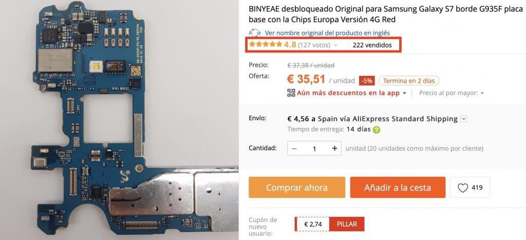 Оригинальные и недорогие материнские платы для Samsung на AliExpress - AlixBlog