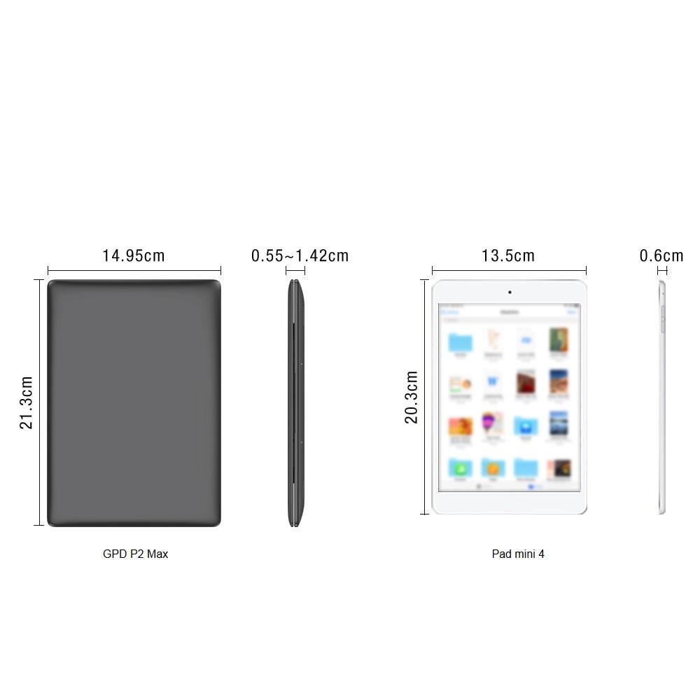 Обзор GPD P2 Max: самый маленький ультрабук уже на AliExpress