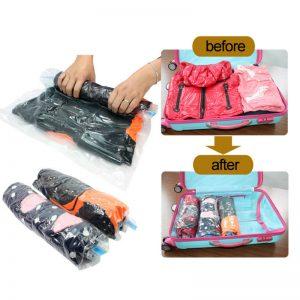 Вакуумные пакеты для хранения еды и одежды на AliExpress