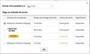 Научитесь покупать на AliExpress Чили - Руководство 2020