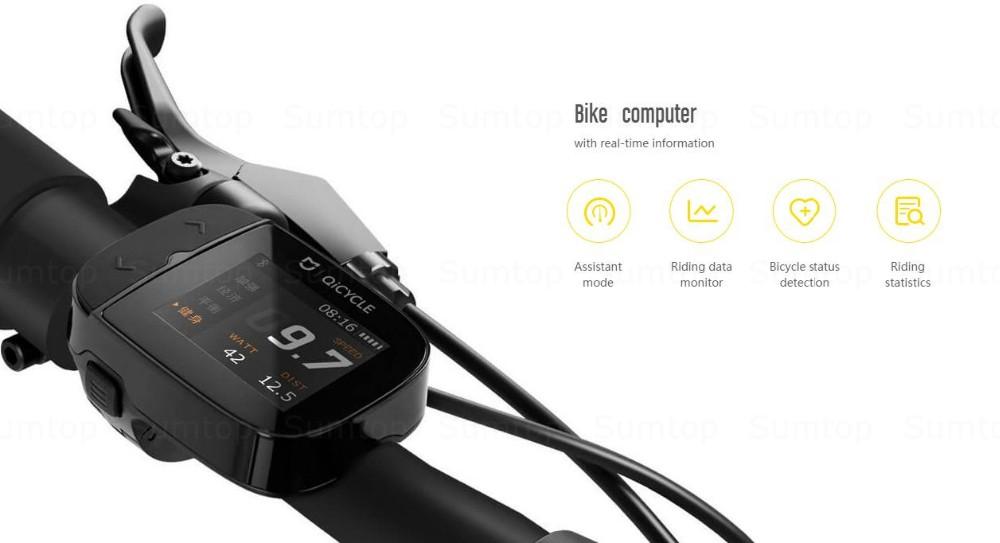 Велосипед Xiaomi QiCYCLE EF1: анализ и руководство по покупке на AliExpress