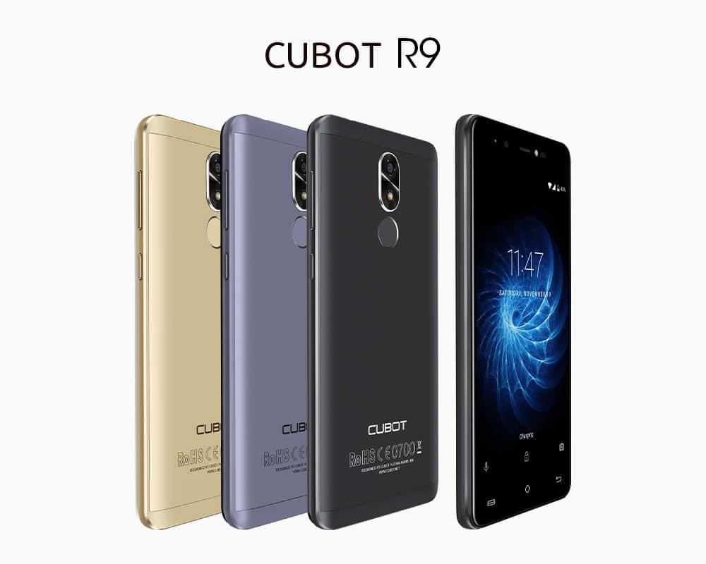 Cubot R9, недорогой мобильный телефон с лучшими функциями
