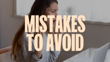 Пять основных ошибок, которых следует избегать, начиная работать индивидуальным предпринимателем