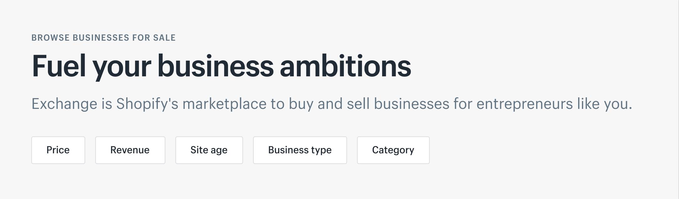 Биржа обмена: как покупать и продавать магазины Shopify