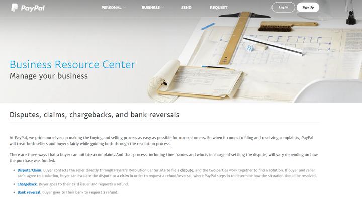 Как управлять отзывным платежом PayPal, спором и претензией