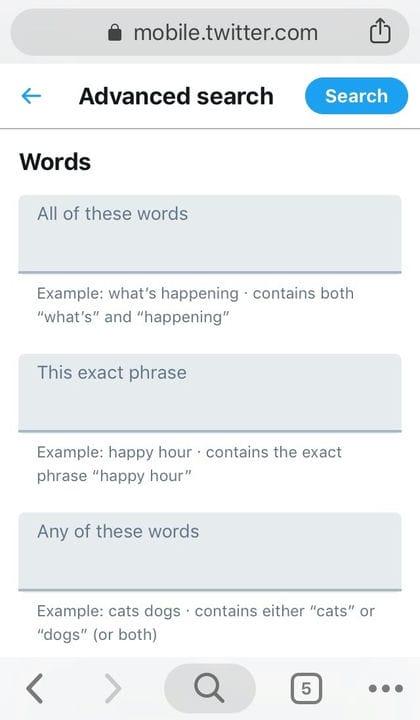 Как использовать расширенный поиск в Twitter: полное руководство