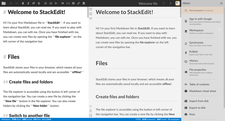 Окончательный список лучших редакторов Markdown для использования в 2021 году