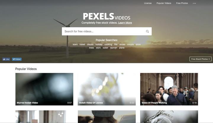 10 сайтов с бесплатными стоковыми видео для создания отличных видеороликов в 2021 году