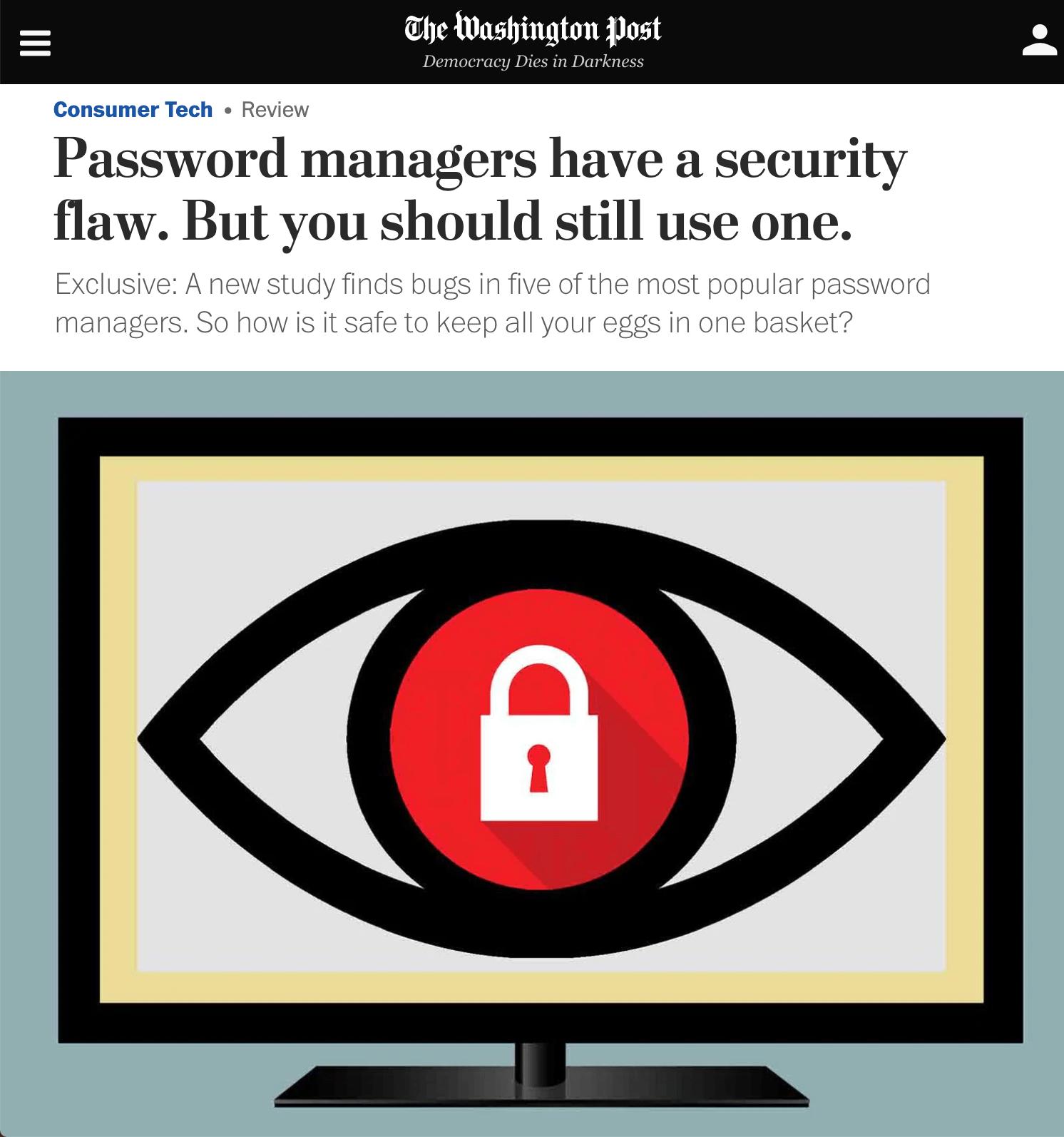 5 лучших менеджеров паролей в 2021 году (с основными советами)