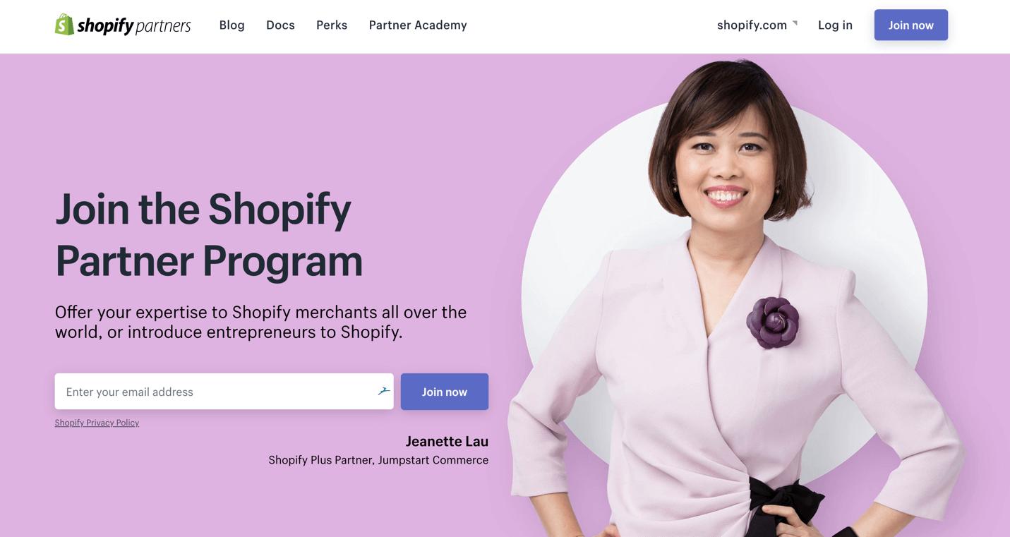 Партнеры Shopify: все, что вам нужно знать об этой программе